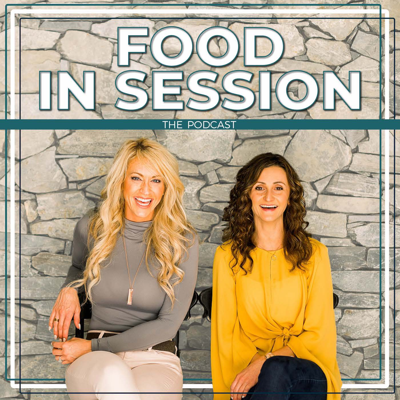 Food in Session Nutrition Podcast show art