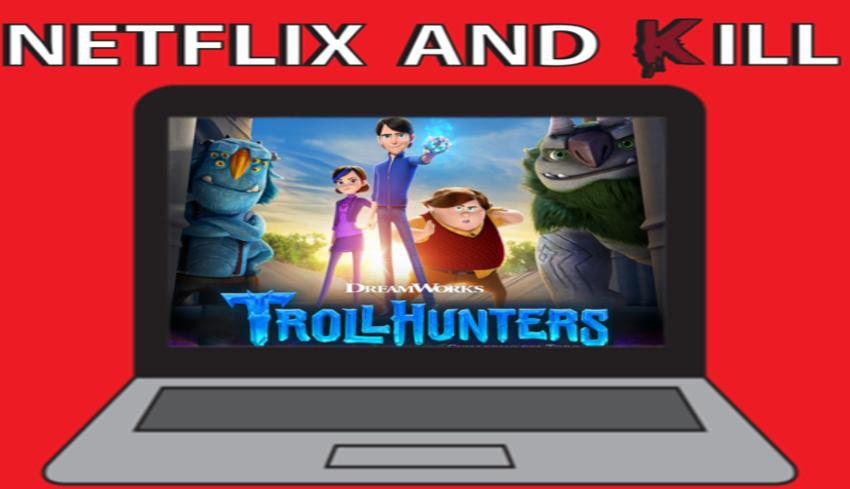 Artwork for Netflix and Kill - Troll Hunters