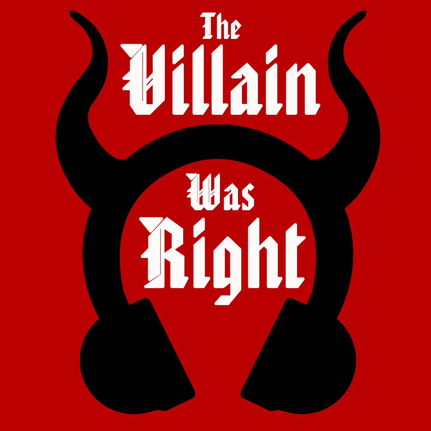 The Villain Was Right show art