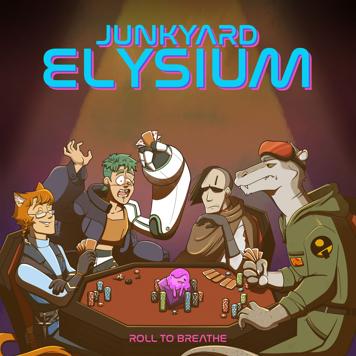 Artwork for Junkyard Elysium 17: Come to Collect