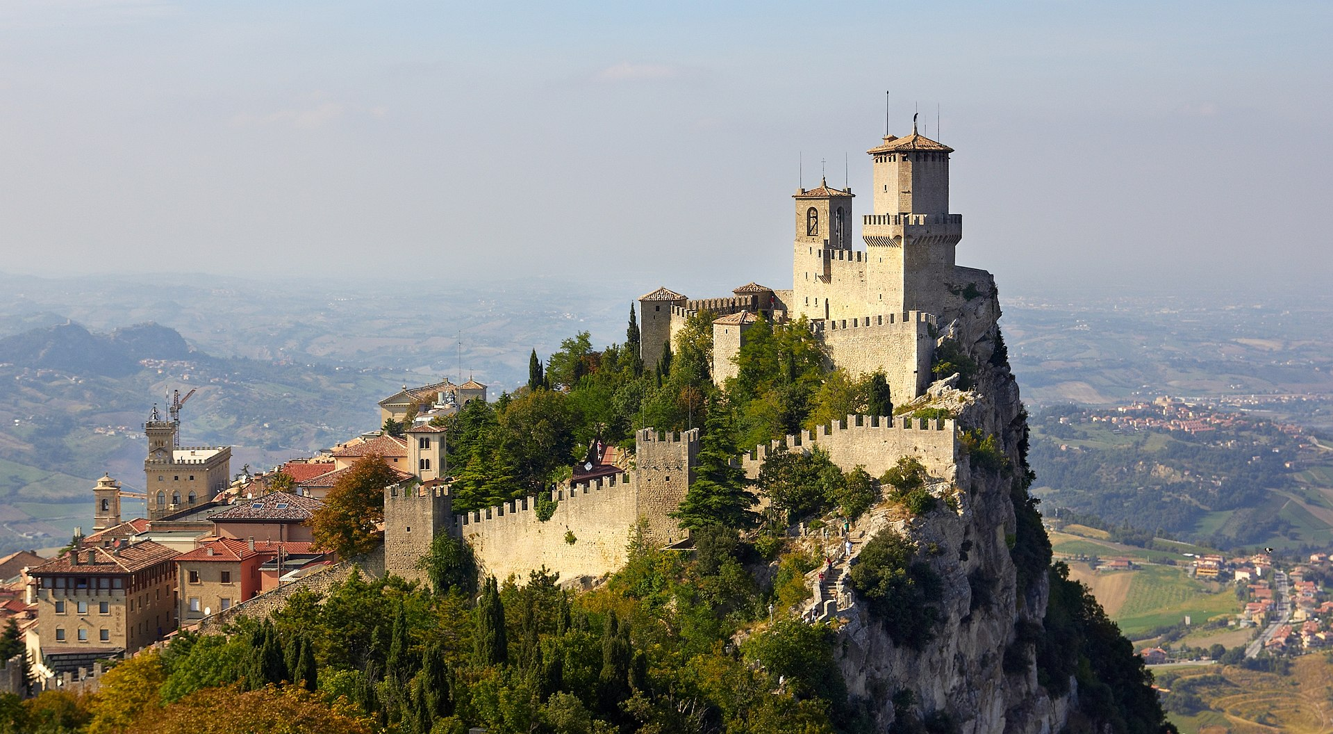 Fortress of Guaita, San Marino.