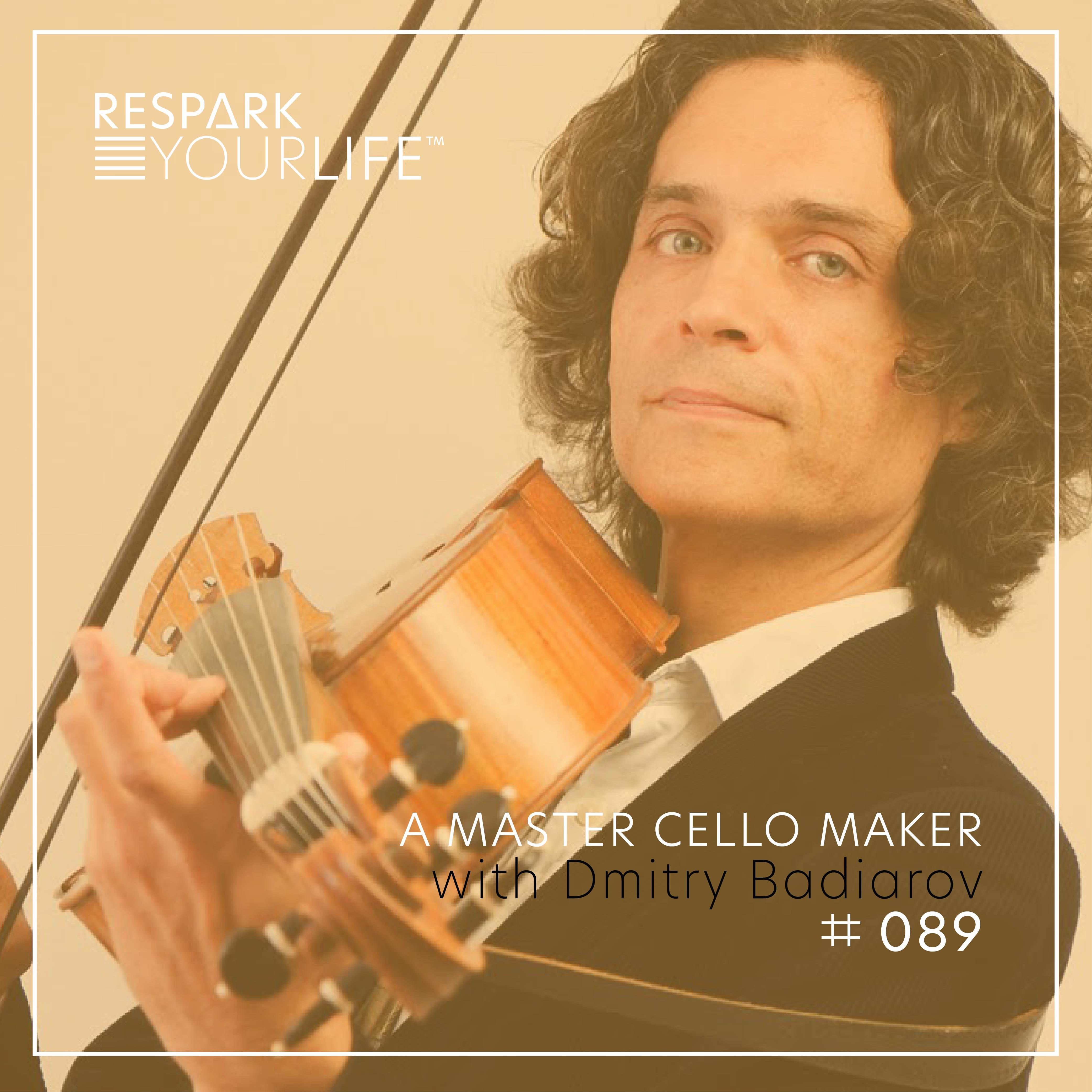 A Master Cello Maker with Dimitry Badiarov