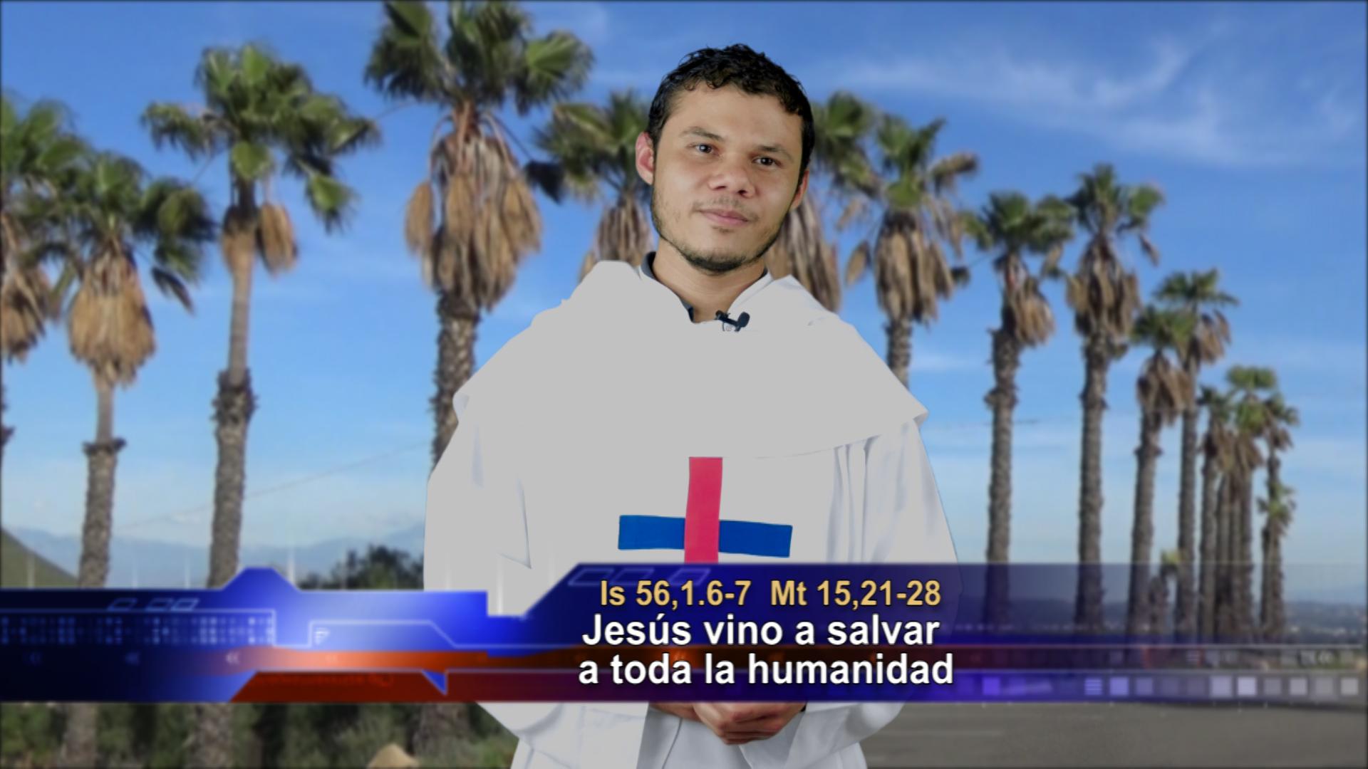 Artwork for Dios te Habla con Oscar Yances, Tema el hoy: Jesús vino a salvar a toda la humanidad