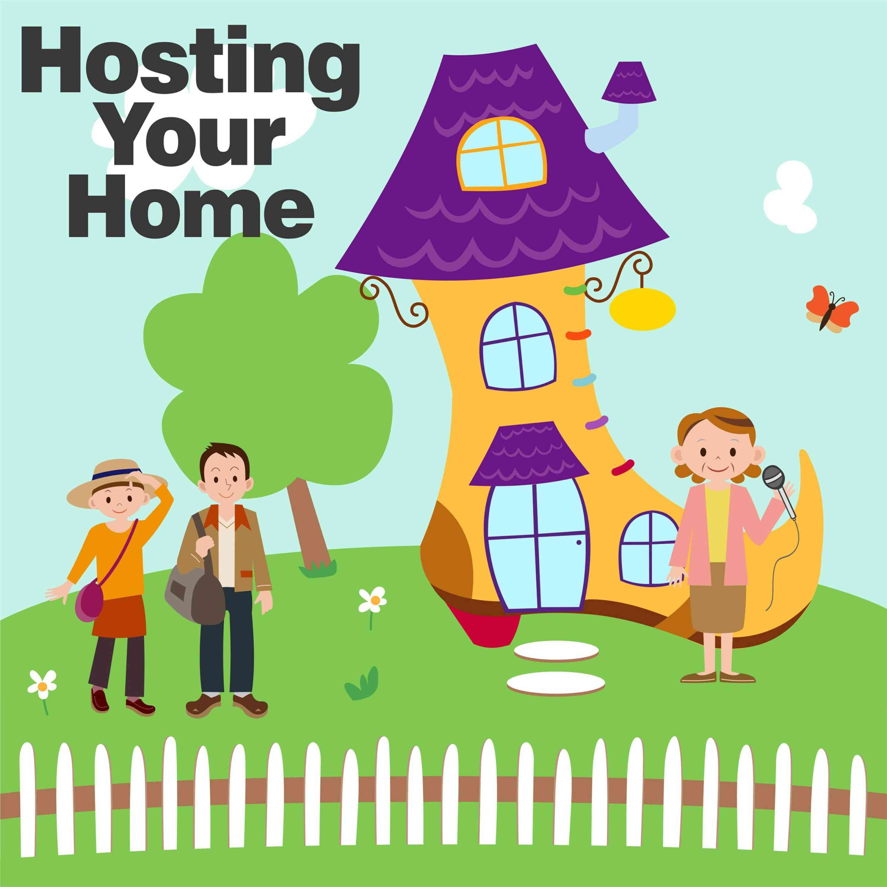 Hosting Your Home - Airbnb host stories show art