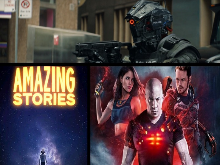 36. Bloodshot, Amazing Stories og Code 8