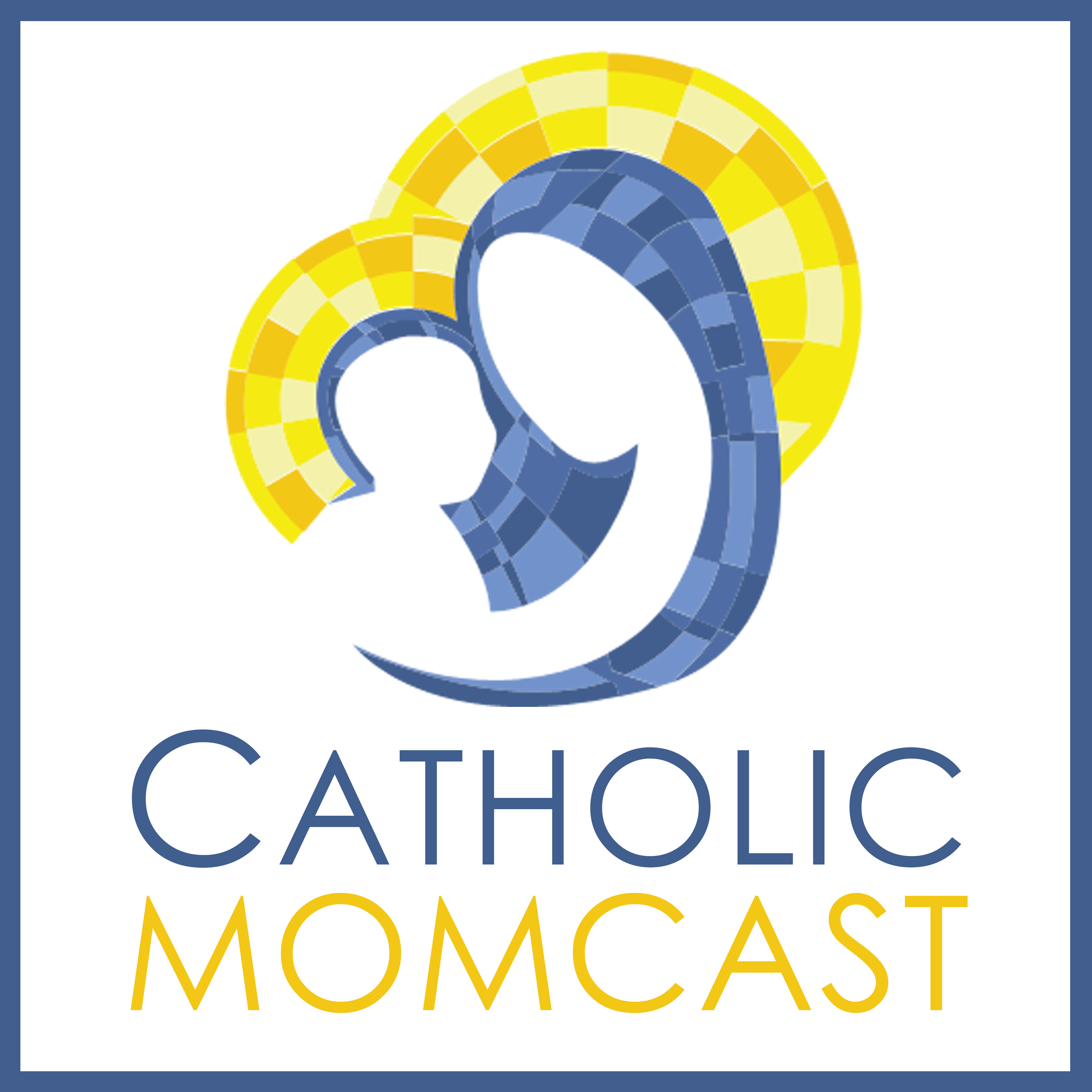 Catholic Momcast show art