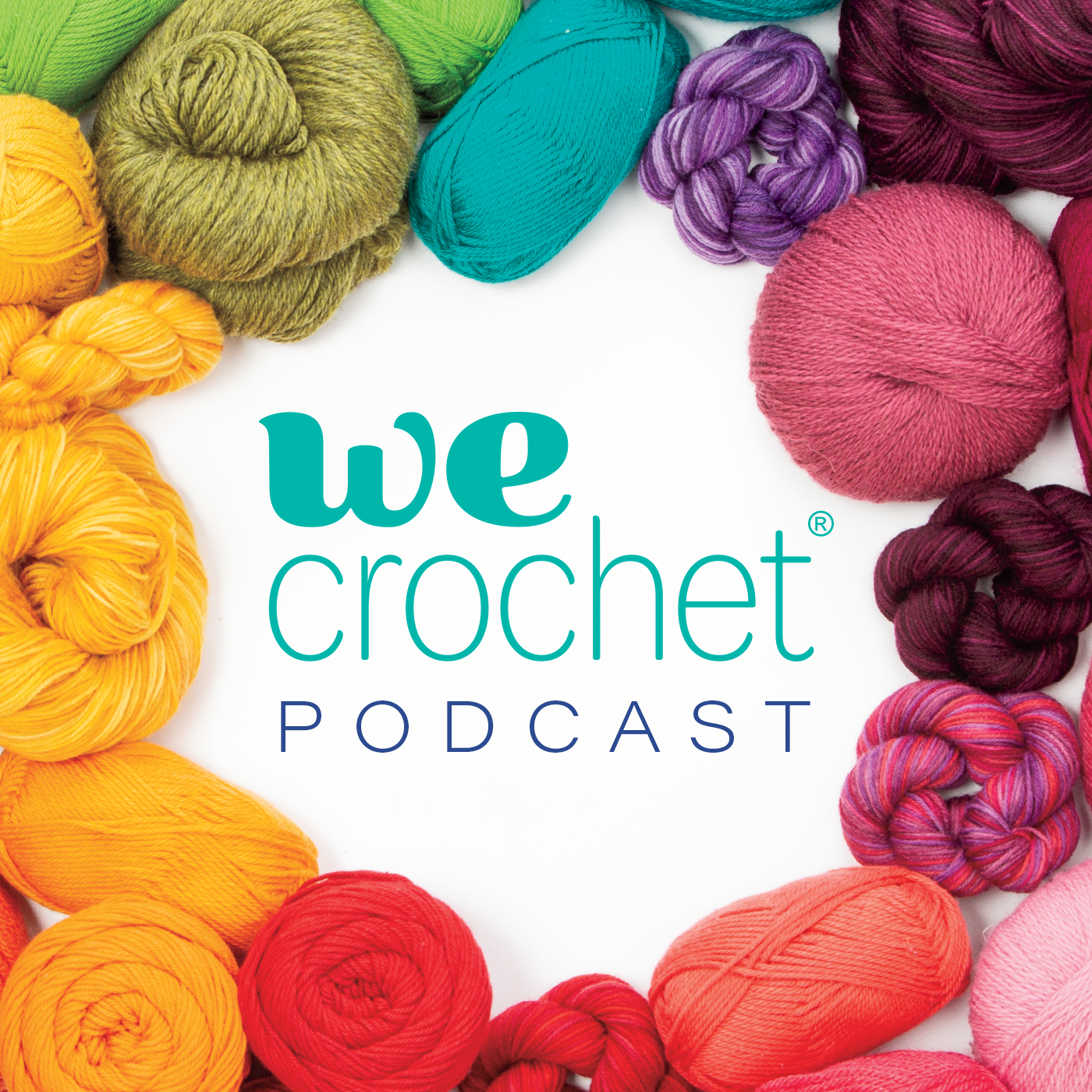 WeCrochet Podcast show art