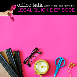 Ep. 011:  Legal Quickie: Someone Has Copied My Work. What Should I Do?