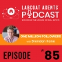 Artwork for Grow Your Audience to One Million Followers-with Brendan Kane-EP85