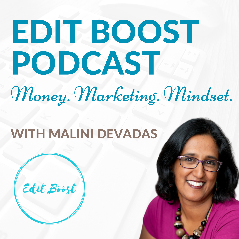 Edit Boost Podcast show art