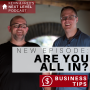 Artwork for ARE YOU ALL IN? Business Tip: Get Our All In Checklist