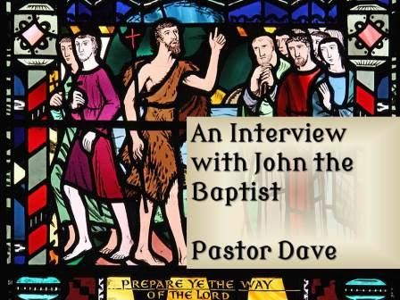 An interview with John the Baptist