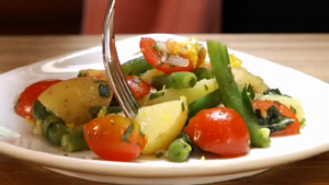 Herbed Potato and Green Bean Salad