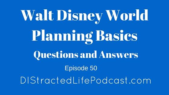 50 Walt Disney World Planning Basics