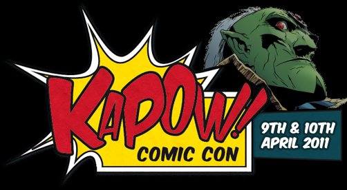 2000AD Kapow Panel