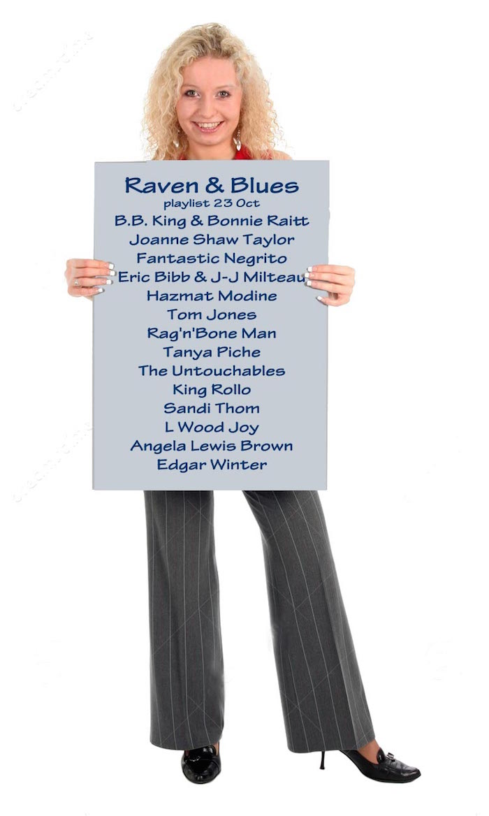 Raven and Blues 23 Oct 2015