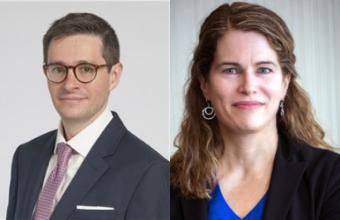 Dr. Daniel Ontaneda and Dr. Kathy Zackowski