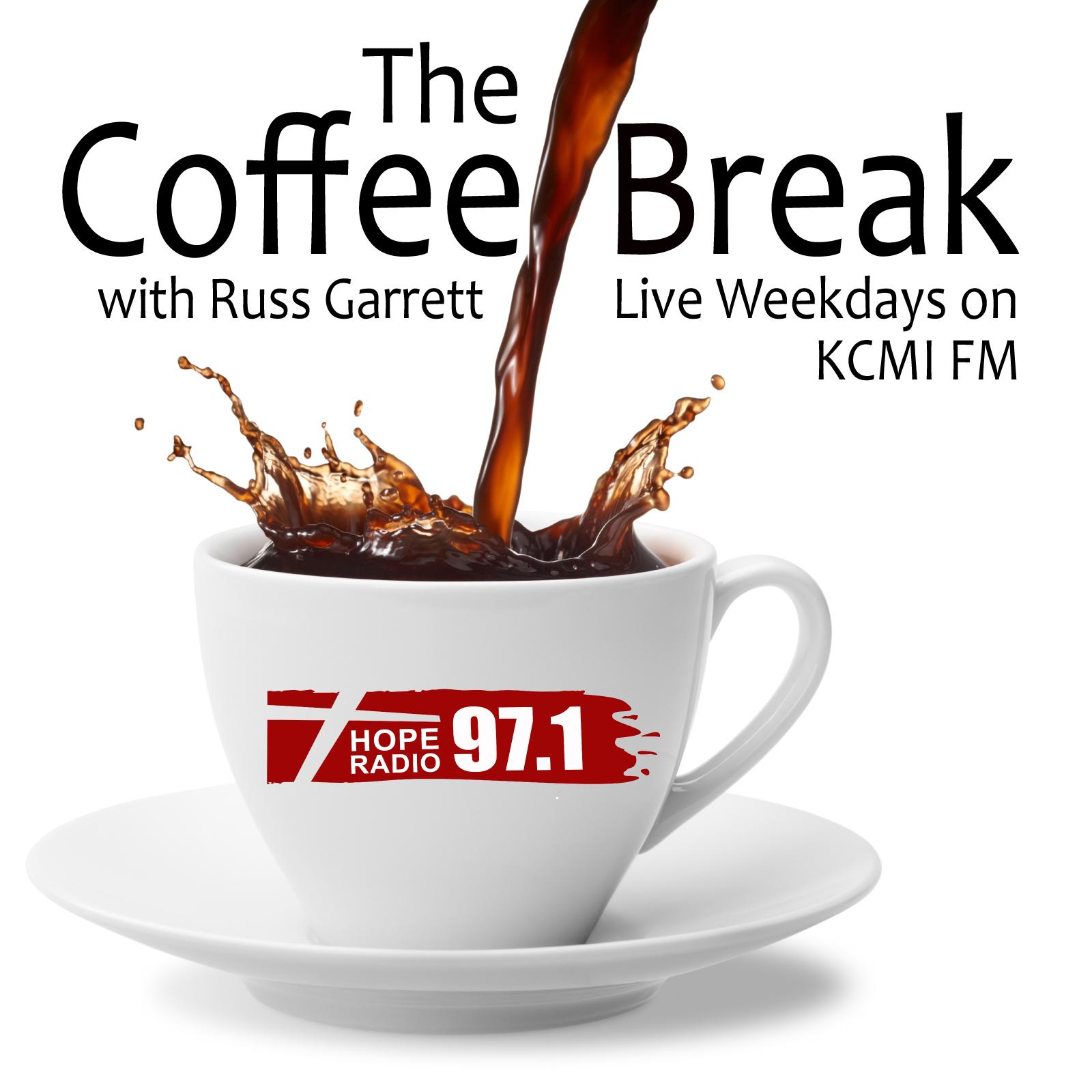 KCMI's The Coffee Break show art