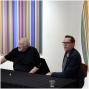 Artwork for Gallery Talk: Tim Bavington and Dave Hickey