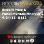 Artwork for Bitcoin Price and Fundamentals Analysis - 9/21/2018 - E132