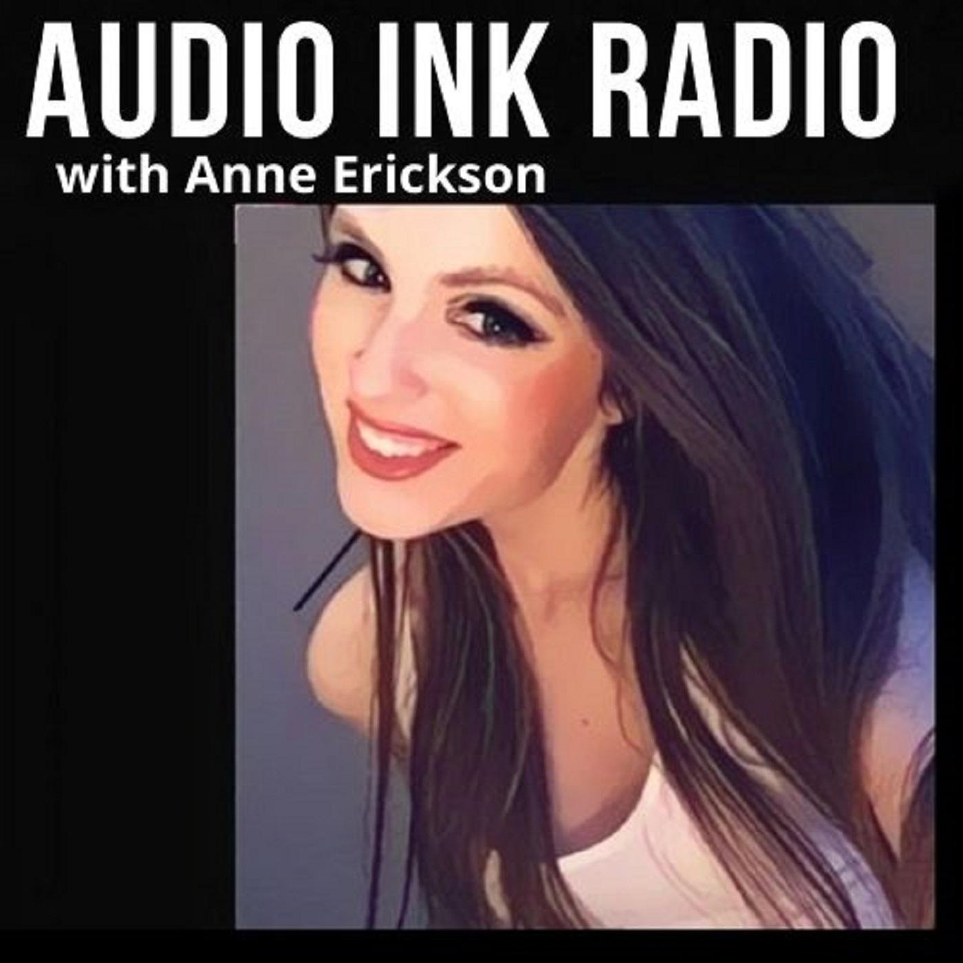 Anne Erickson on Audio Ink show art
