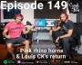 Artwork for Episode 149 – Pink rhino horns & Louis CK's return