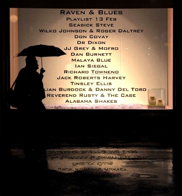 Raven and Blues 13 Feb 2015