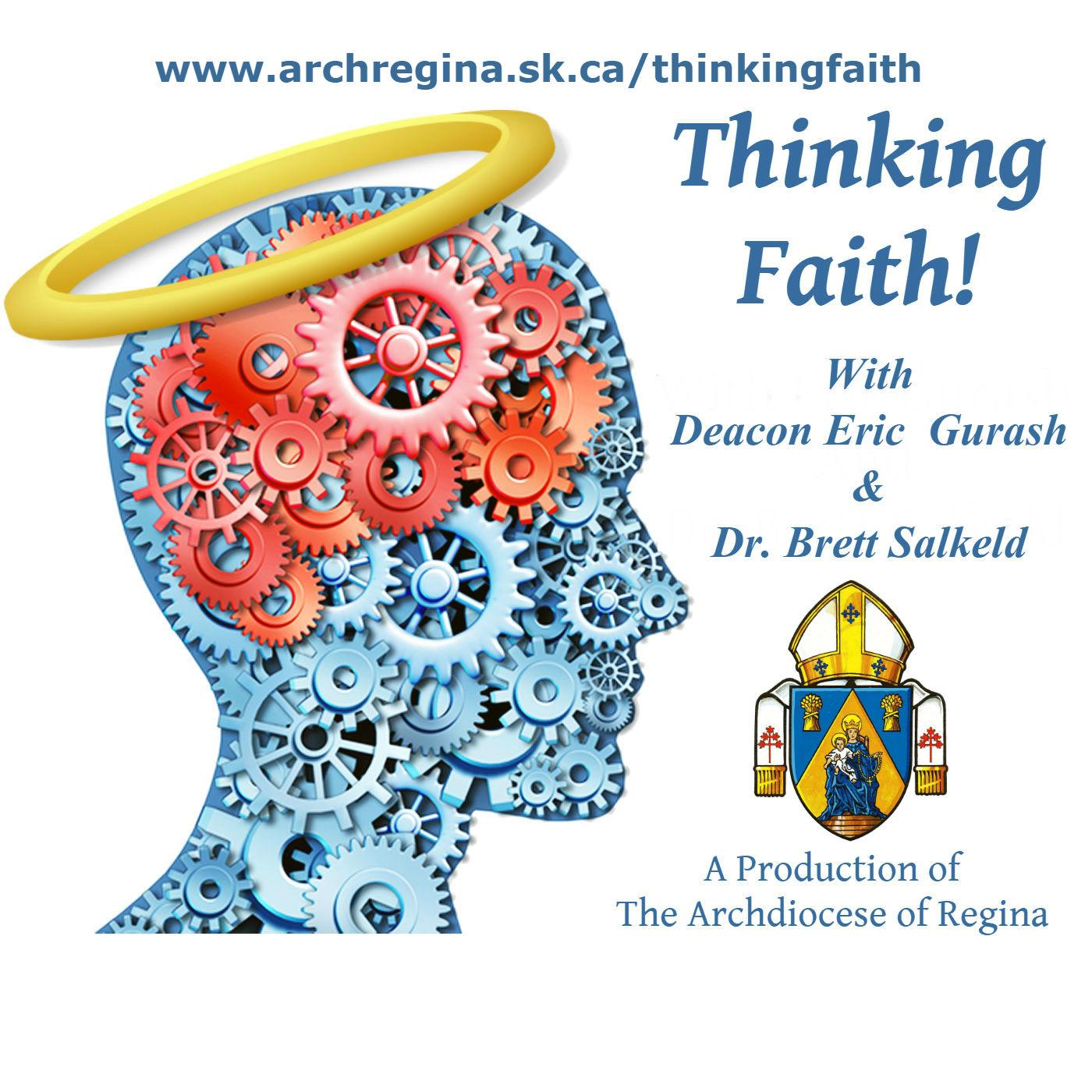 Thinking Faith: Catholic Podcast show art