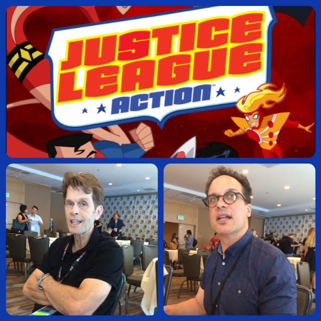 Episode 717 - SDCC: Justice League Action w/ Kevin Conroy and Deidrich Bader!
