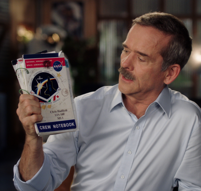 Chris Hadfield one pagers