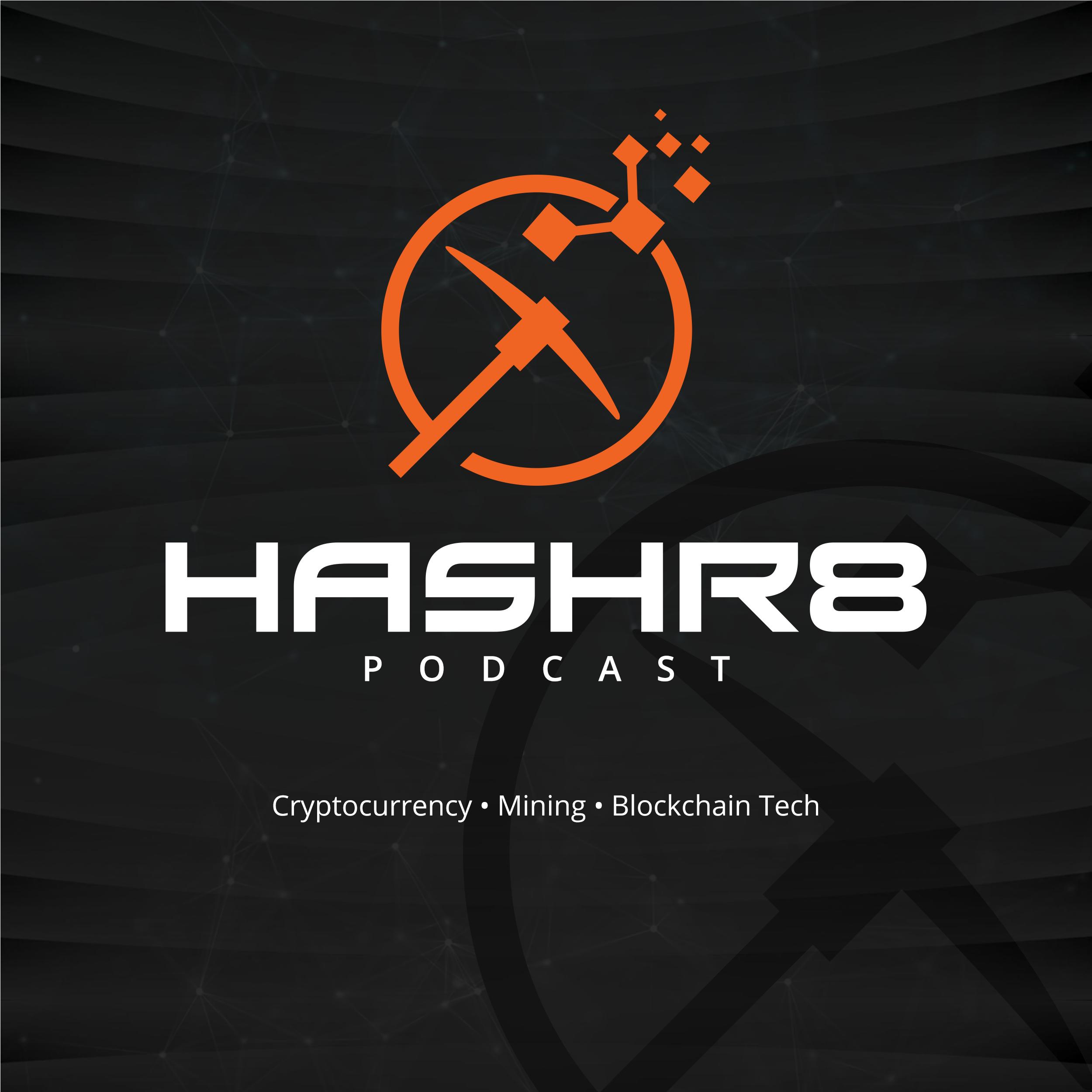 Hashr8 Podcast show art