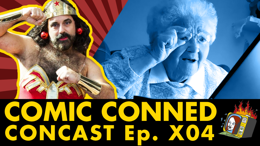 CONCAST w/ Shadow Tom - Ep. X04 (NYCC2015, COMIC CON, COMCAST, TIME WARNER)