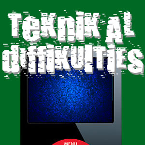 Teknikal Diffikulties 10/20/06-When Titles Elude me...