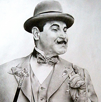 235-14117 In the Old-Time Radio Corner - Hercule Poirot