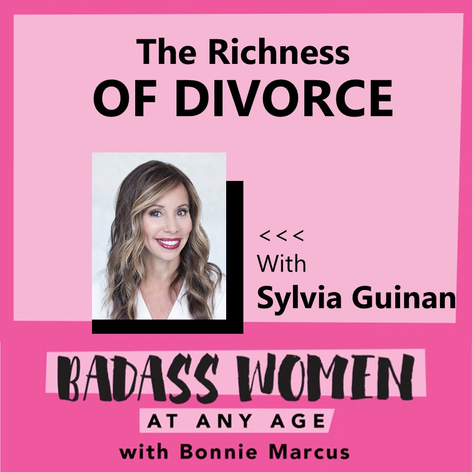 Artwork for The Richness of Divorce with Sylvia Guinan