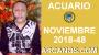 Artwork for HOROSCOPO ACUARIO-Semana 2018-48-Del 25 de noviembre al 1 de diciembre de 2018-ARCANOS.COM...