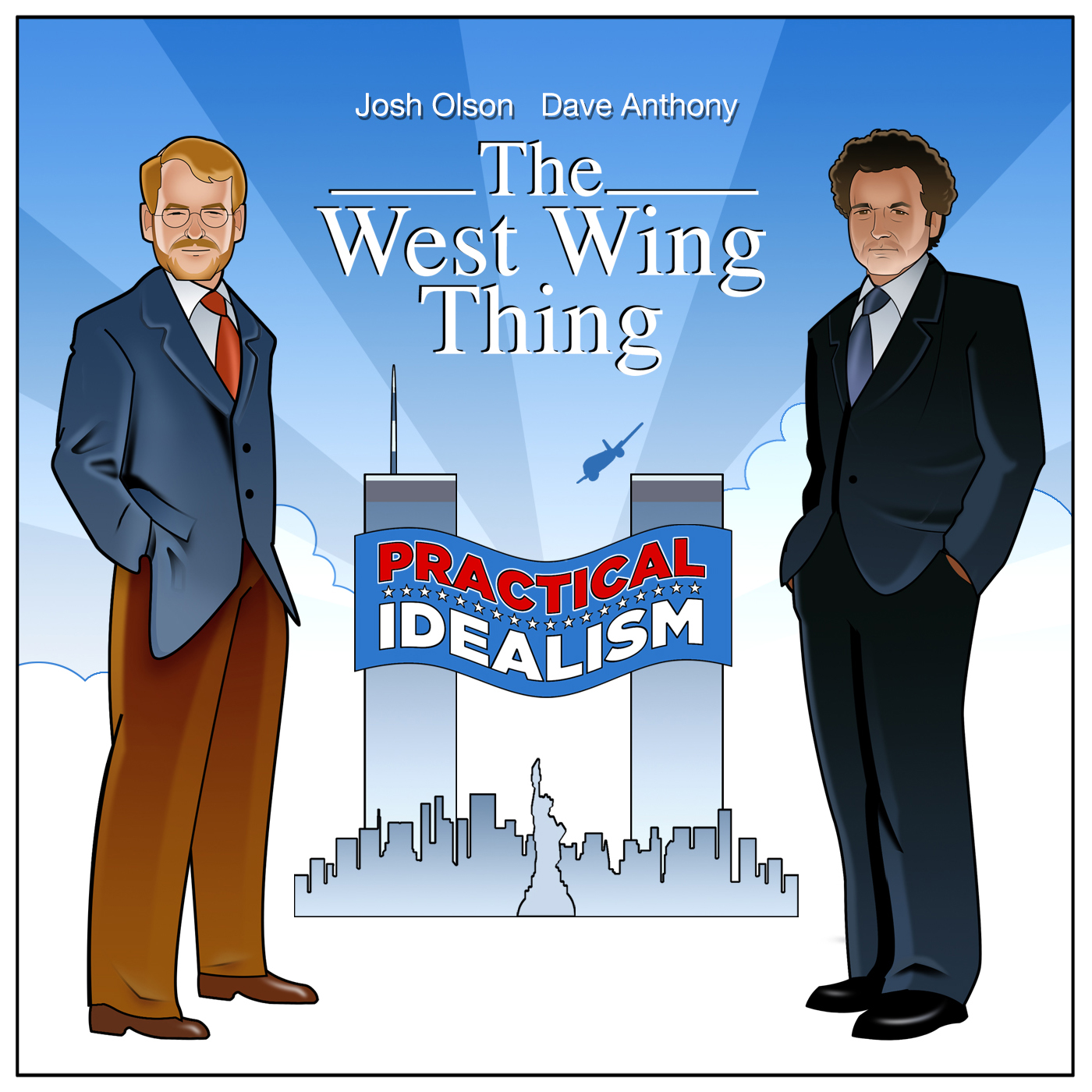 The West Wing Thing show art