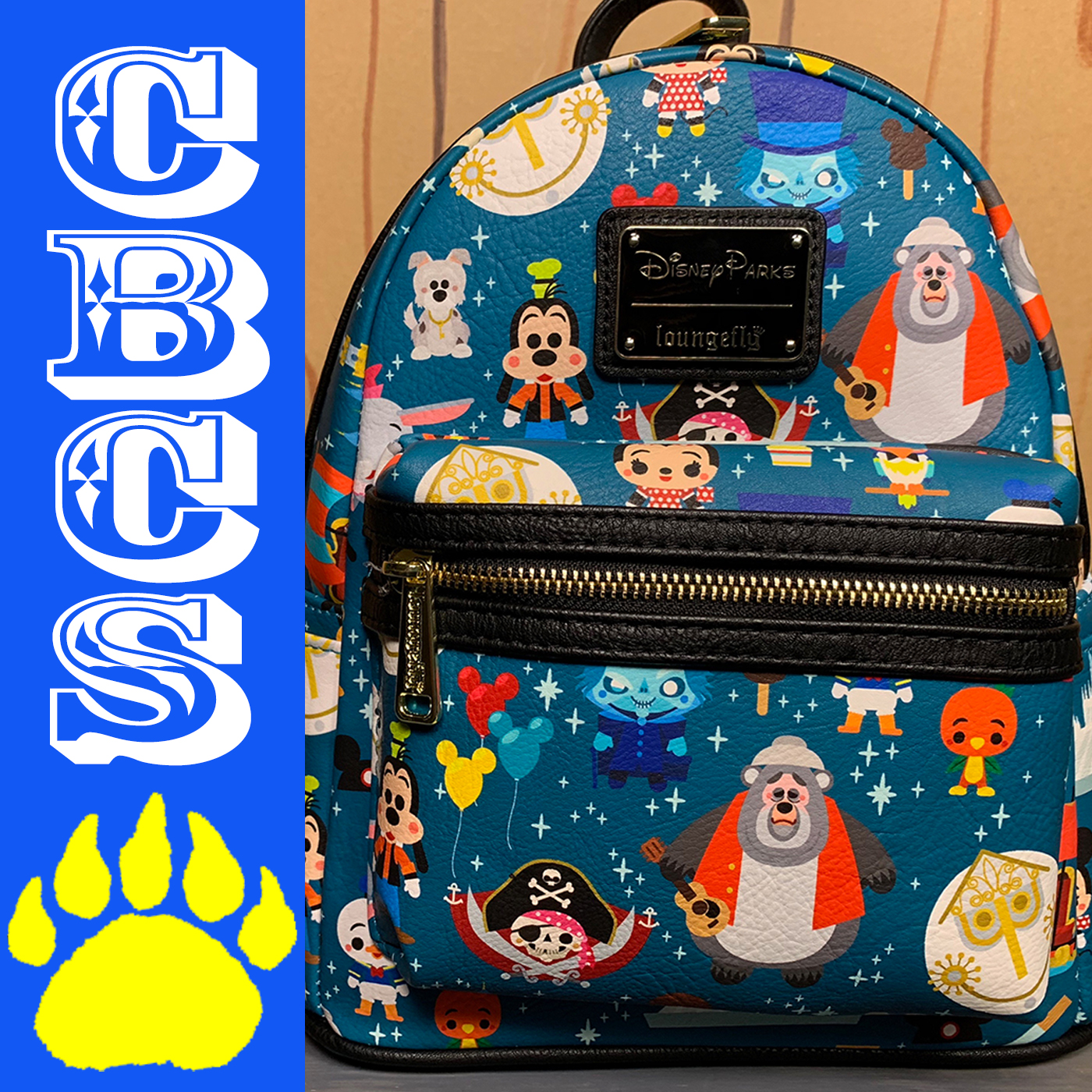 Artwork for 2019 Loungefly Cute Disney Parks Backpack - Country Bear Collector Show #213