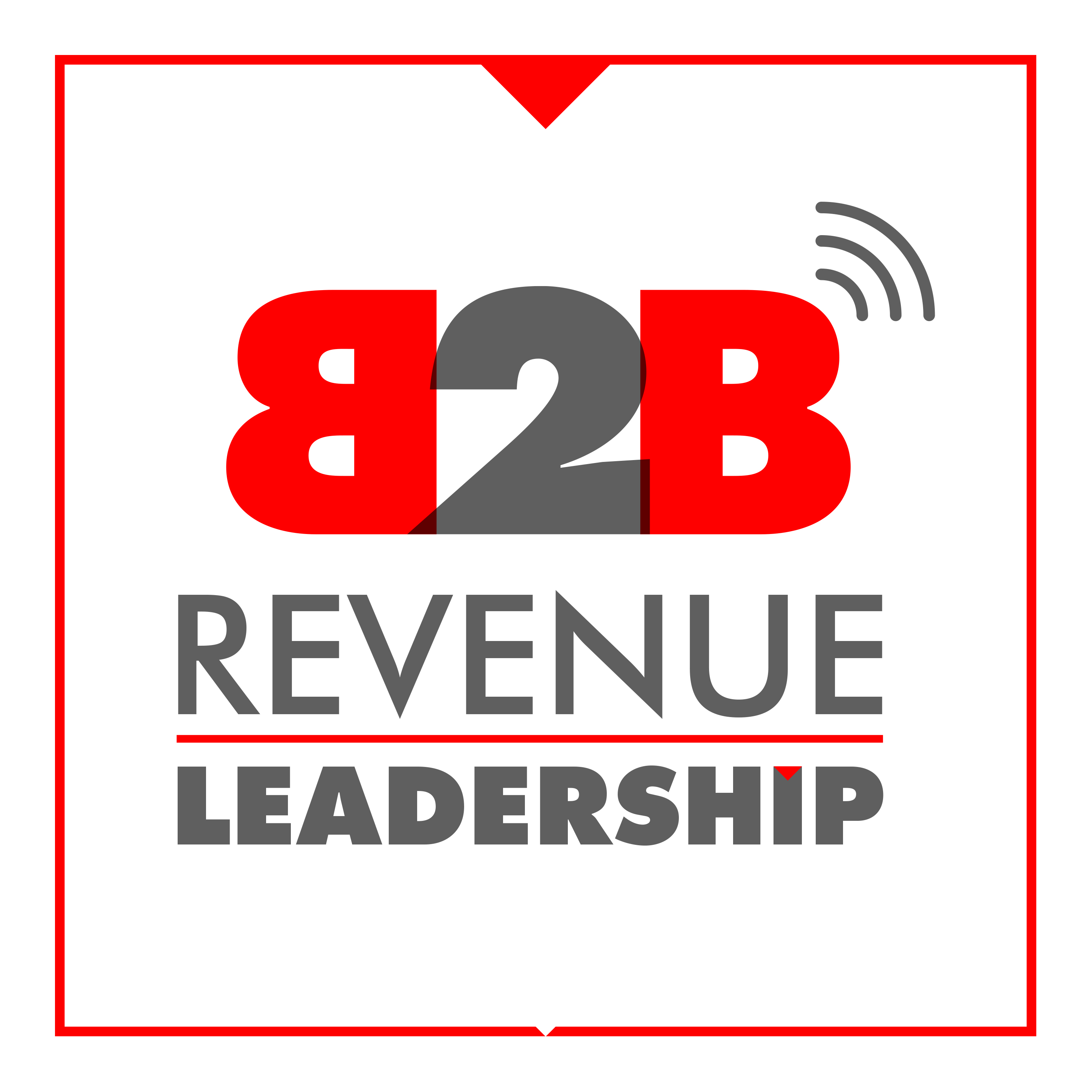 Artwork for The B2B Revenue Leadership Show - For CEO, CRO, CMO Sales & Marketing