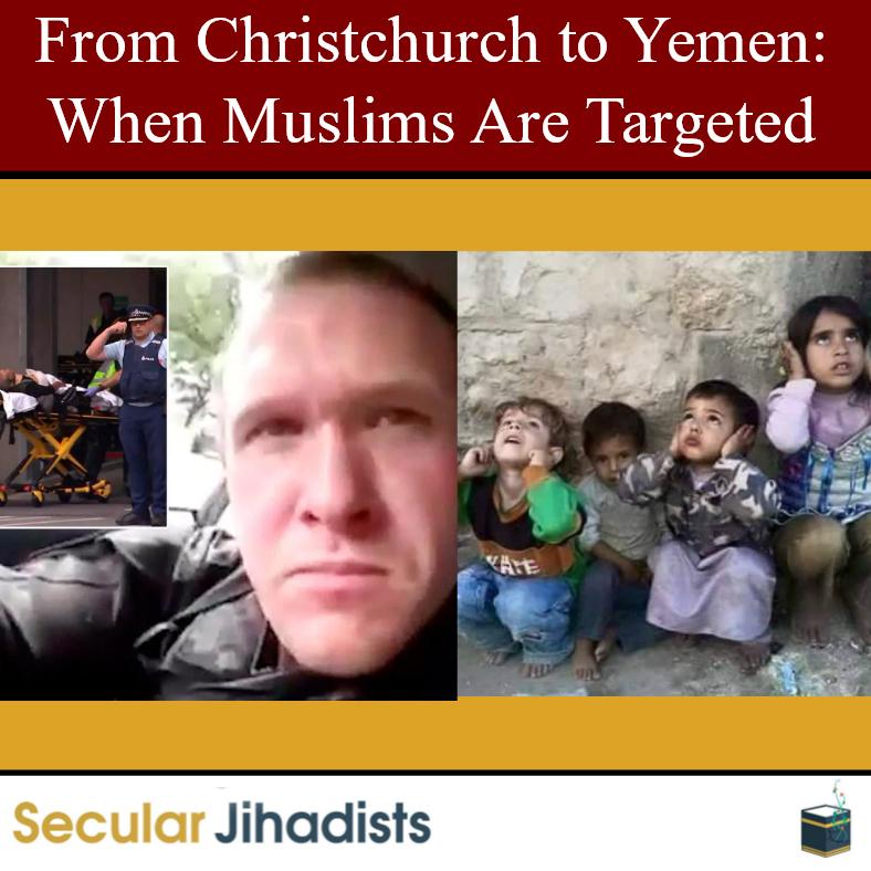 From Christchurch to Yemen