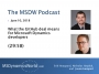 Artwork for MSDW Podcast: What the GitHub deal means for Microsoft Dynamics developers