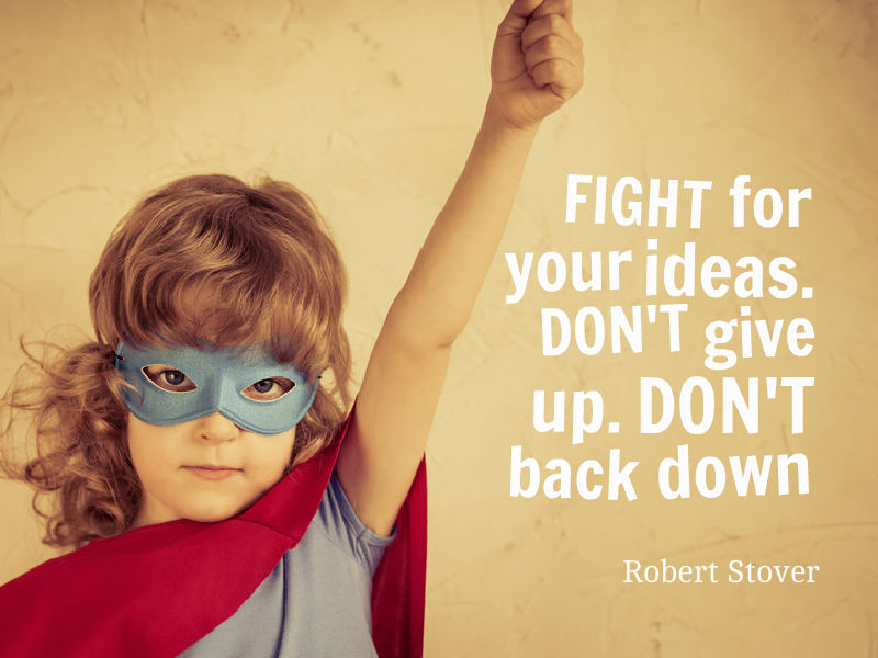 """Your Ideas Need a HERO"" with Robert Stover"
