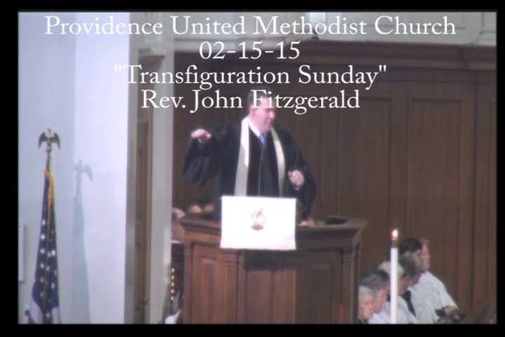 "Traditional Sermon ""Transfiguration Sunday"""