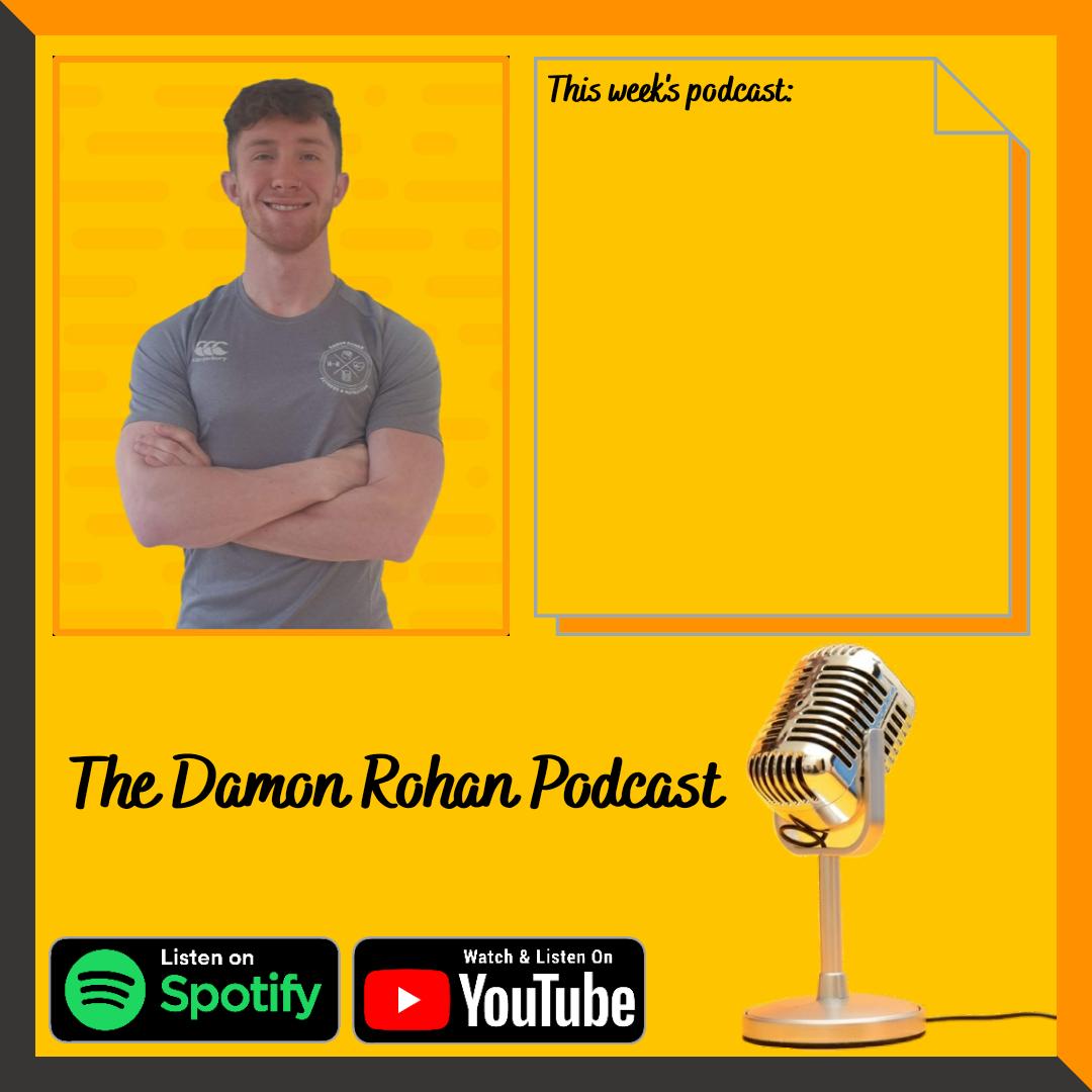 The Damon Rohan Podcast show art