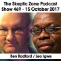 Artwork for The Skeptic Zone #469 - 15.Oct.2017