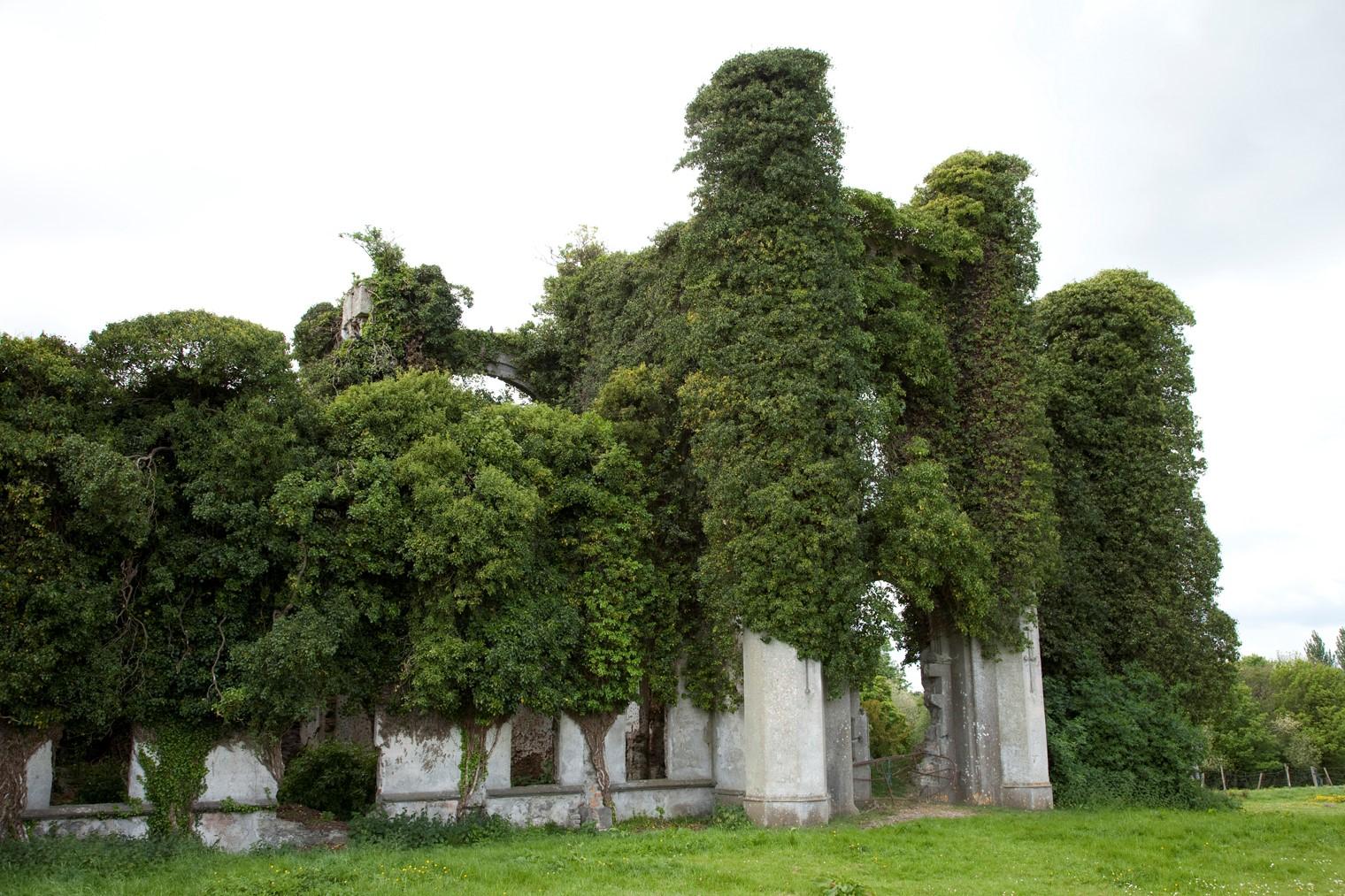 Irish Ruins Before AI