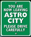 Image result for you are leaving astro city