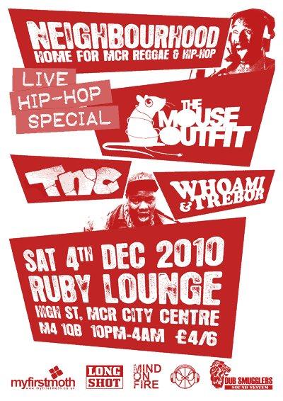 Neighbourhood Live Hip-Hop Special, December 4th