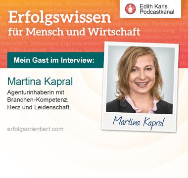 Im Gespräch mit Martina Kapral