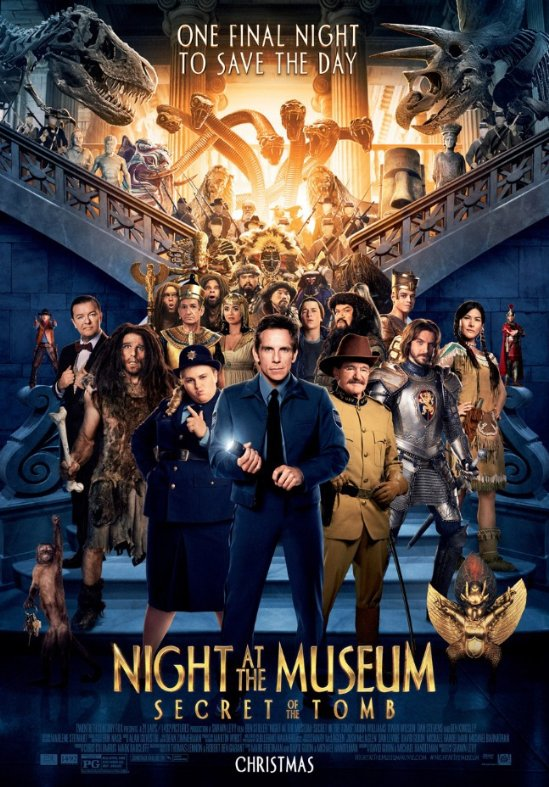 Ep. 79 - Night at the Museum: Secret of the Tomb (Russian Ark vs. Museum Hours)